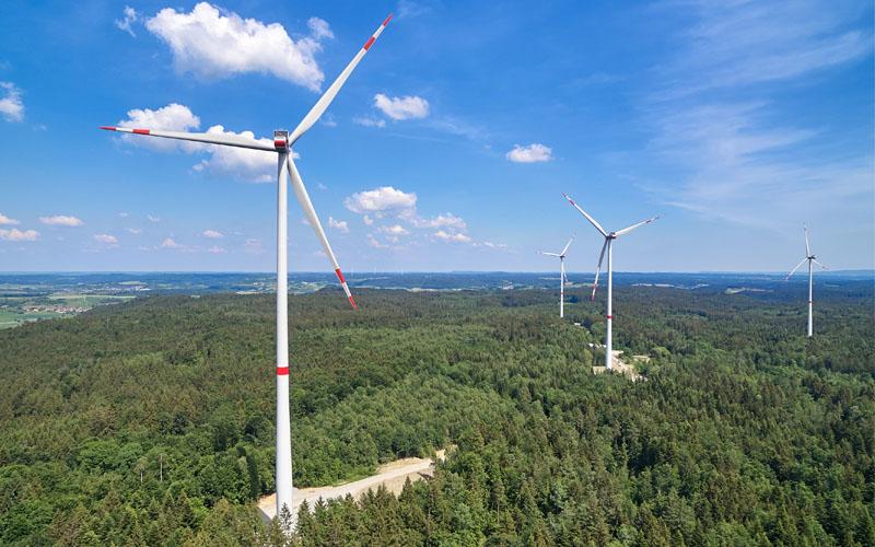 Erneuerbare Energie Uhl Windkraft