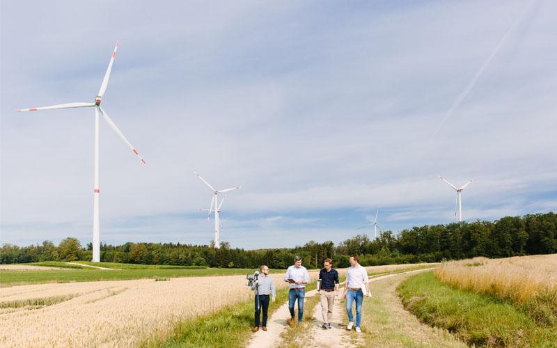 projektmanagement Windkraftanalagen